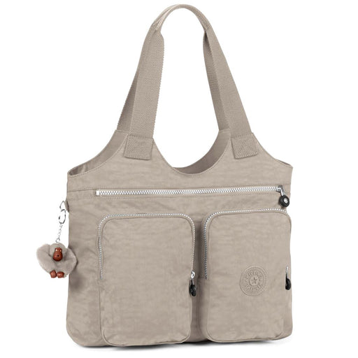 Kipling Armide Warm Grey Handbag