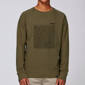 Land sweatshirt - Gravel