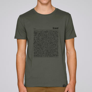 Land t-shirt - Gravel