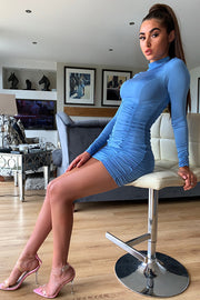 Maddie Blue Bodycon Dress