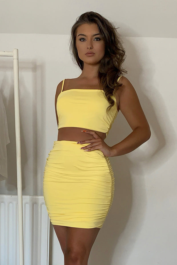 Livy Yellow Co Ord Set