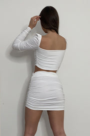 Lizzie White Co Ord Set