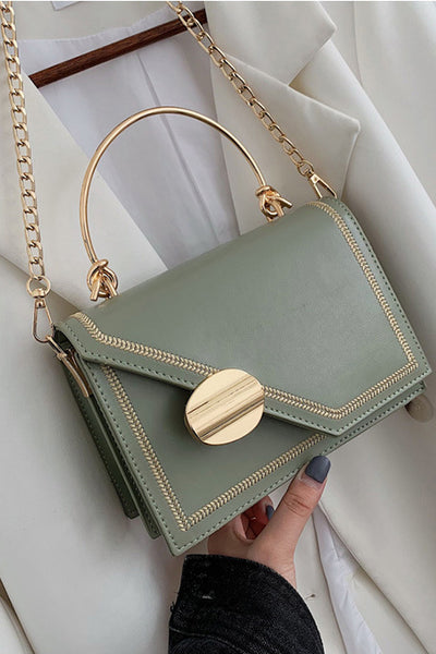 Penelope Olive Cross Body Bag