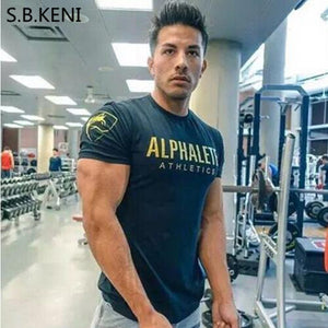 ALPHALETE 2017 mens gyms T shirt