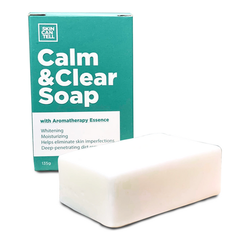 SKIN CAN TELL CALM & CLEAR SOAP