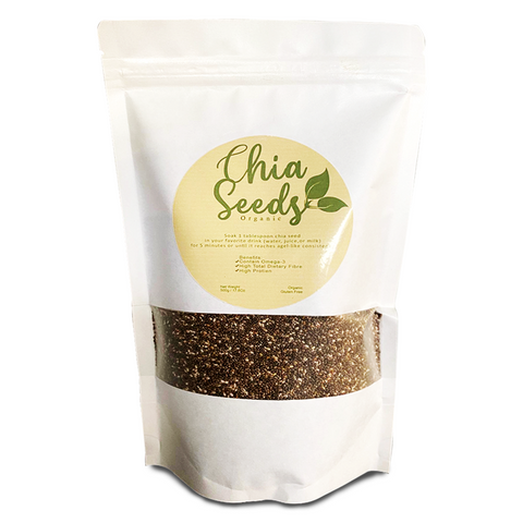 CHIA SEEDS (500 GRAMS)