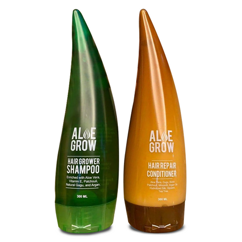 ALOE GROW SHAMPOO + ALOE GROW CONDITIONER