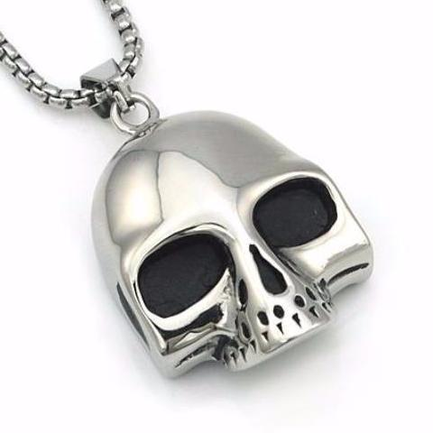 Skull Head Hip Hop Necklace