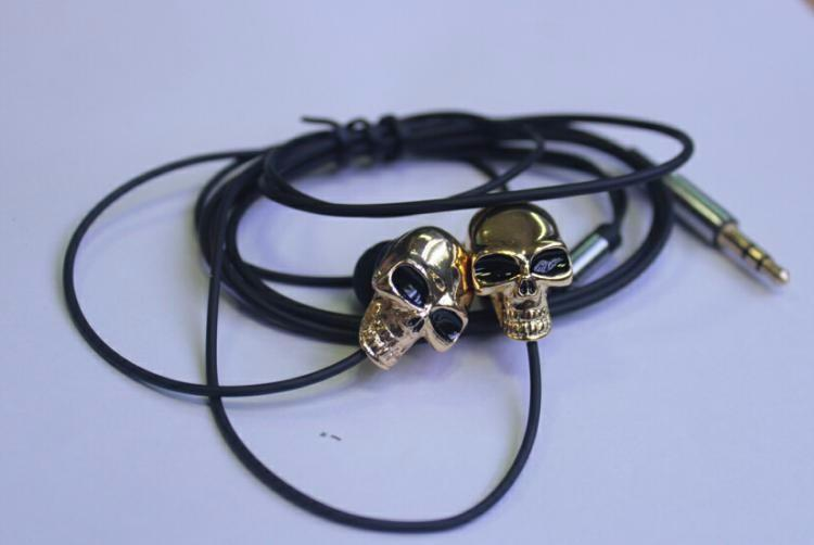 Skull Stereo Bass Earphone 3.5mm
