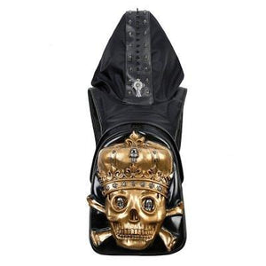 Luxury Fashion 3D Skull Backpack
