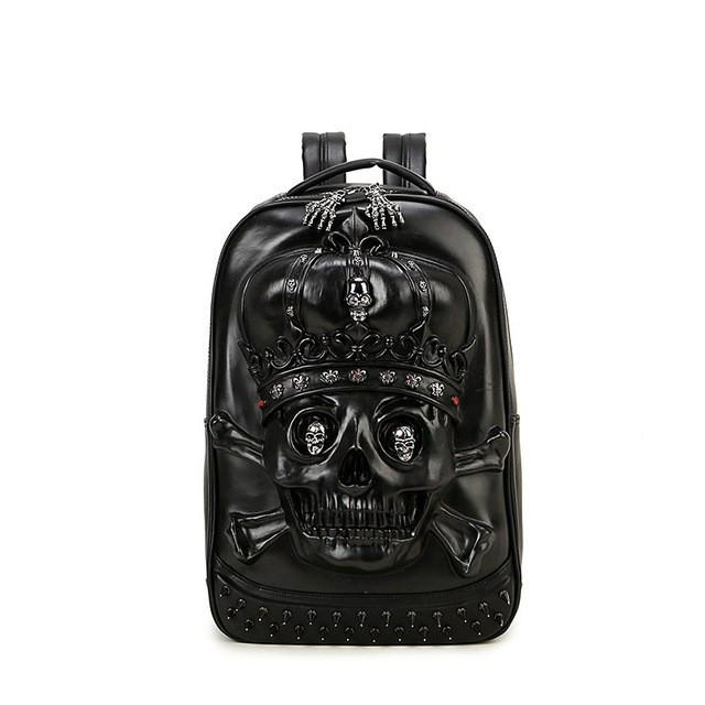 Cool 3D Skull design Backpack