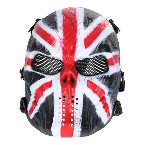 Paintball Mask Skull Full Face Protection