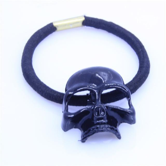 Steel Skull Hair Ties