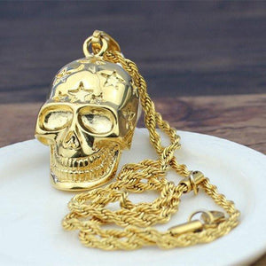 Star Skull Necklace