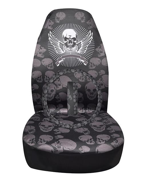 Cool Skull Universal Car Seat Covers
