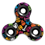 Colorful Skull Spinner