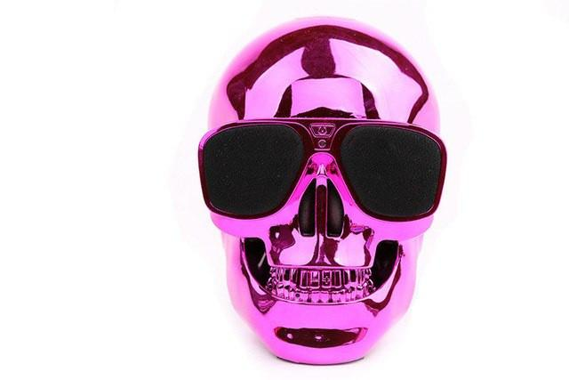 Skull Wireless Bluetooth Stereo Speakers