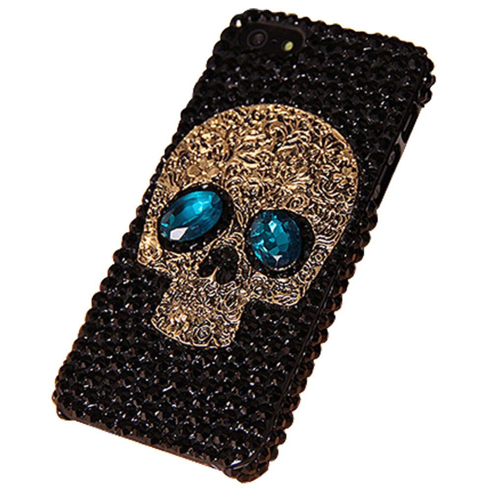 Skull Crystal Case for iPhone 6 6s