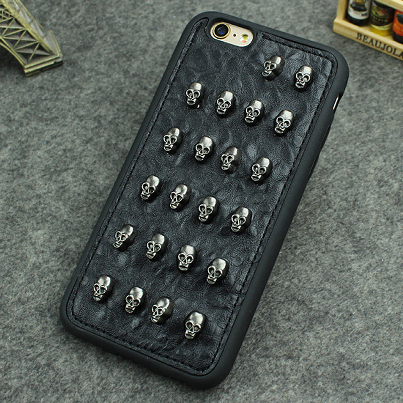 Skull Rivet Iphone Case