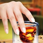 Creative Skull Head Crystal Transparent Glass Cup