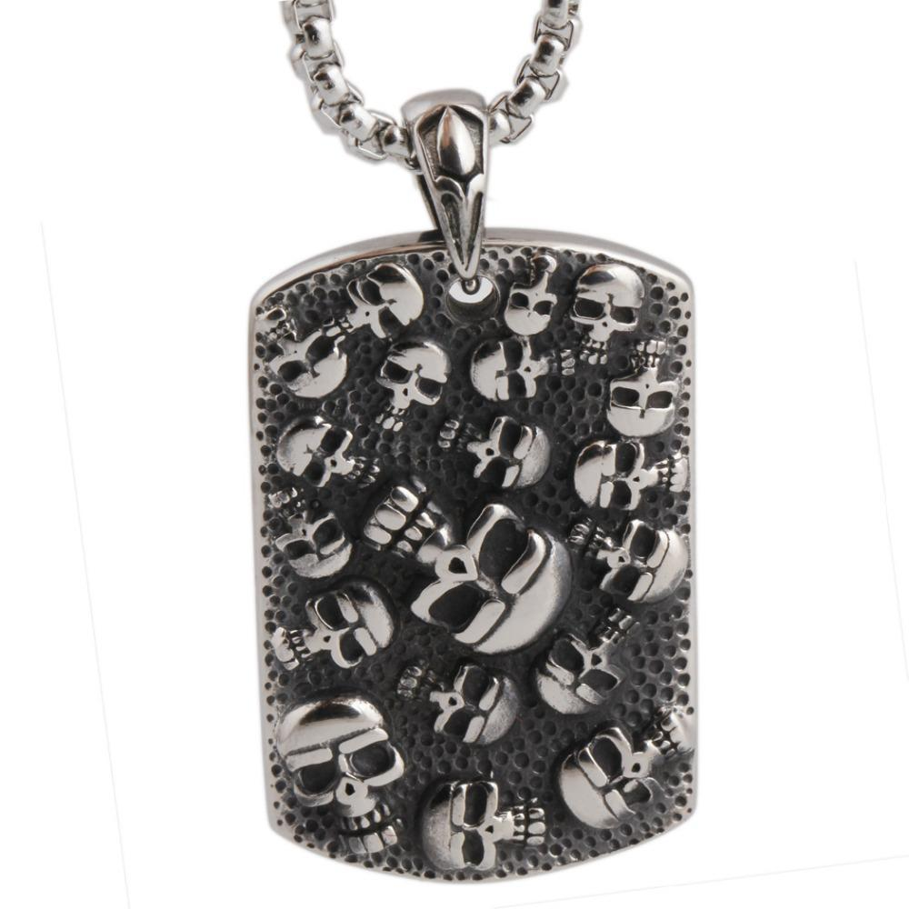 Punk Mexican Skull Necklace