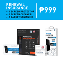 Nanofixit Insurance Renewal Promo (1 Screen Protector + 1 Screen Cleaner + 1 Screen Cracking Insurance + 1 Gadget Sanitizer)