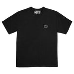 LOGO HEMP T SHIRT - BLACK
