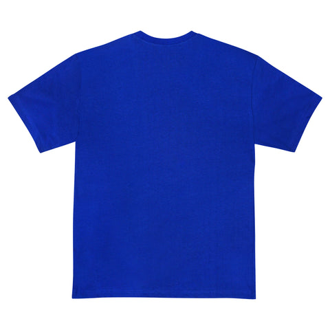 LOGO HEMP T SHIRT - BLUE