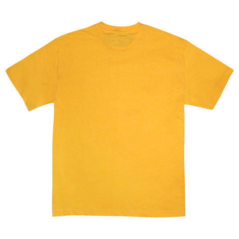LOGO HEMP T SHIRT - ORANGE