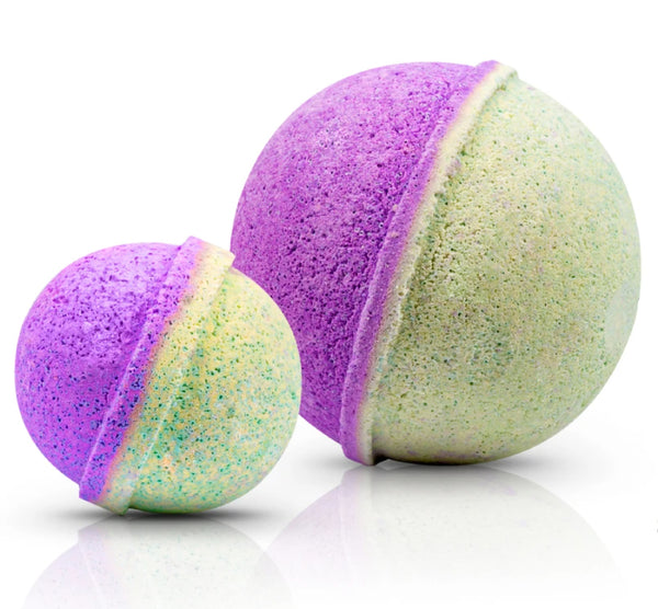PEACE & LOVE CBD BATH BOMB (LARGE)