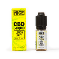 NICE CBD E-LIQUID LEMON HAZE (300mg) - MR NICE