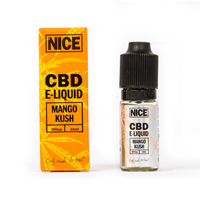 NICE CBD E-LIQUID MANGO KUSH (300mg) - MR NICE