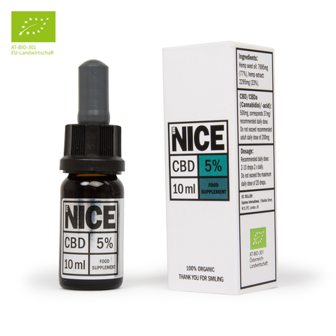 5% ORGANIC CBD OIL - MR NICE