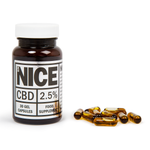 Full Spectrum CBD Gel Capsules (2.5%)