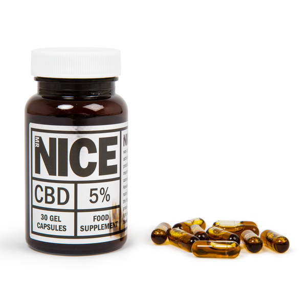 Full Spectrum CBD Gel Capsules (5%)