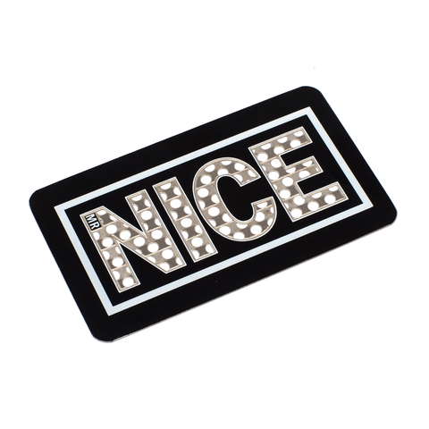 STAY NICE GRINDER CARD - BLACK