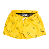 POLKA DOT SMILEY SWIM SHORTS