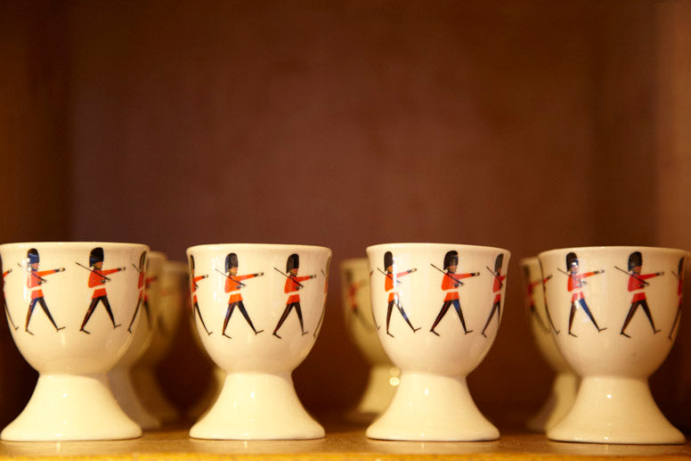 Caramel Japan Store Soldier Egg Cup