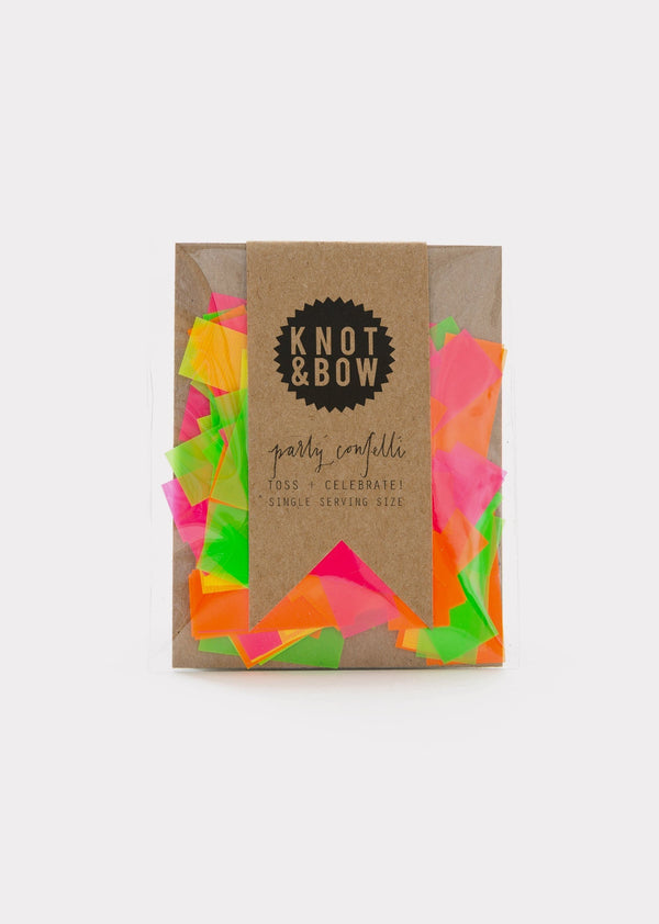 Knot & Bow | Single Serving Size™ Confetti, Neon