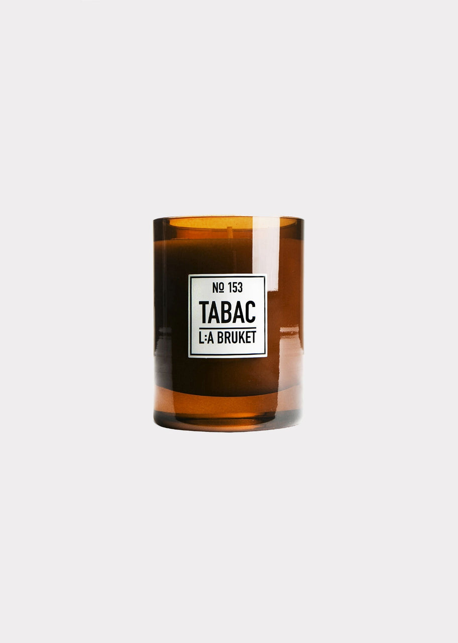L:A Bruket | Scented Candle Tabac, Large