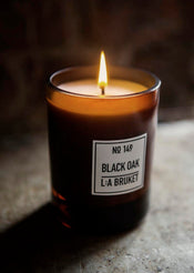 L:A Bruket | Scented Candle Black Oak, Large
