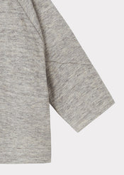 Pochard Gifting Wrap Cardigan, Grey Melange