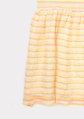 Alaria Party Dress, Candy Glitter Stripe