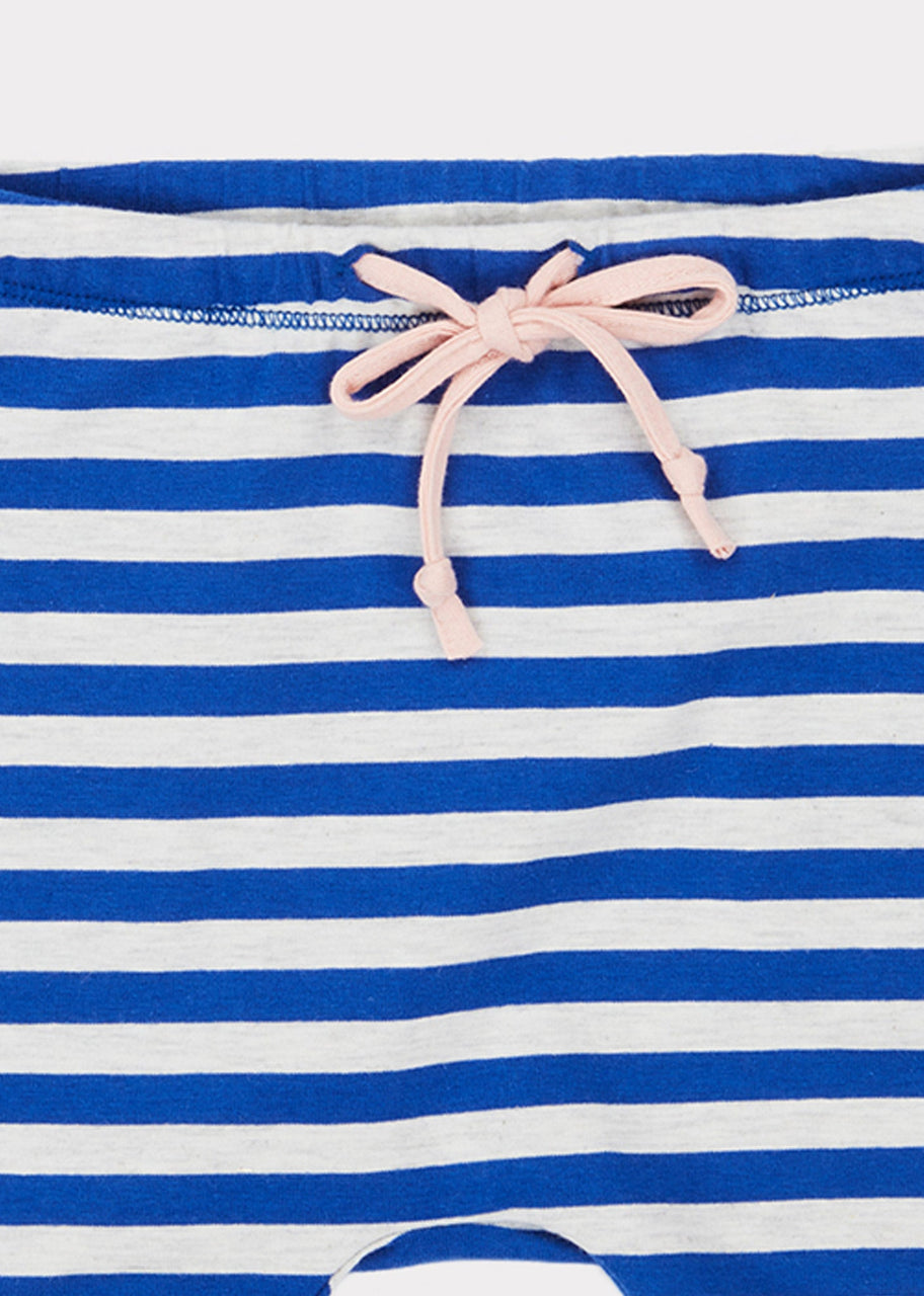 Belgravia Shorts, Blue Stripe