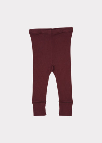 Chaffinch Baby Trousers, Maroon