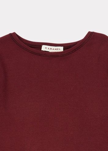 Flycatcher T Shirt, Maroon