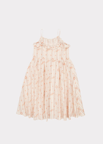 Greenwich Dress, Rose Tan
