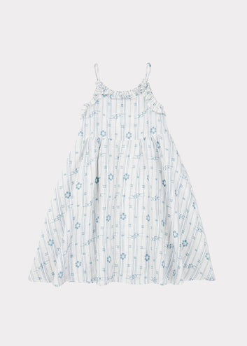 Greenwich Dress, Vapour Blue