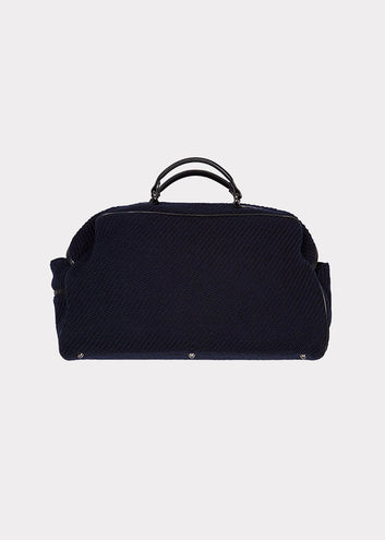 Maria La Rosa | Claudio Travel Bag, Navy
