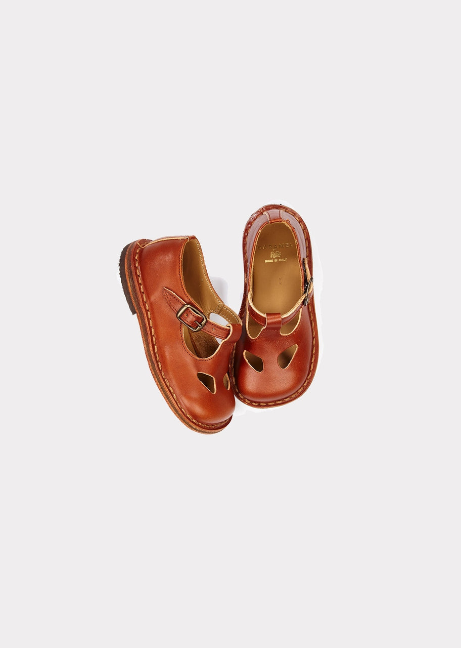 Paul Buckle Shoe, Cuoio